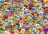 BOIPEEI Anime Cartoon Puzzle 1000 Piezas Jigsaw Puzzles DIY Collectibles Modern Home Decoration - Mucho Gelini