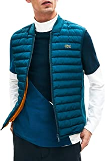 Lacoste Vest Padded Blue for Man