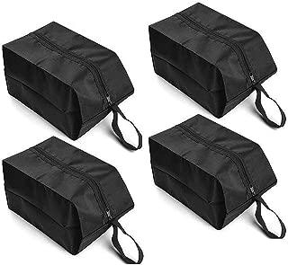 BAYA CORP 旅行鞋袋4件套防水尼龙带拉链男女通用(黑色)
