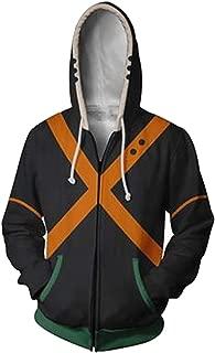 Boku No Hero Academia My Hero Academia Bakugou Katsuki Hoodies Sweatshirt Cosplay Costume Battle Suit Jacket