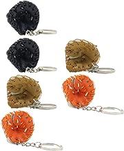 BESPORTBLE Leather Baseball Glove Keyring Sport Keychain Purse Handbag Backpack Charms Baseball Party Favors for Women Men...