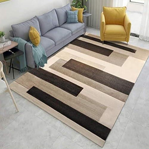 Venta en línea precio bajo descuento Myself-carpet Rectangle Classic Home Alfombra Moderno Multifuncional en en en el sofá de la Sala Dormitorio para una Lectura Relajante Alfombra Varios tamaños Alfombra (gris, 160 x 230cm)  bienvenido a orden