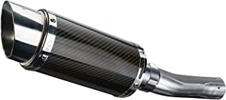 Delkevic Aftermarket Slip On compatible with Honda CBR500R Mini 8