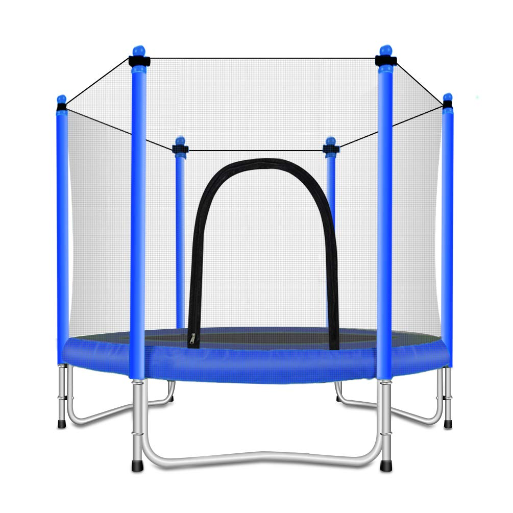 Fashionsport OUTFITTERS Trampoline Enclosure Kids Blue 5FT