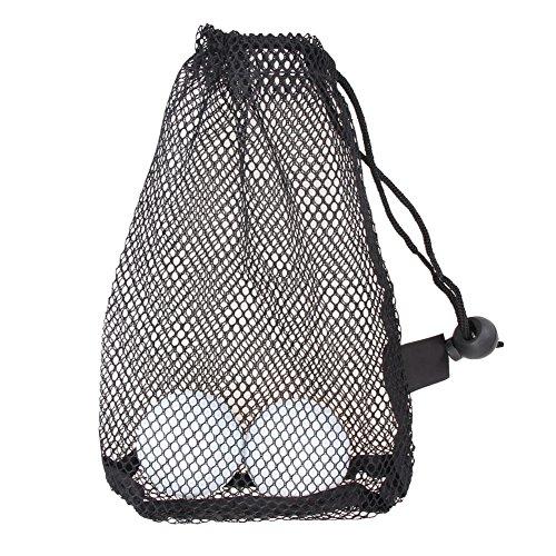 Demiawaking Nylon-Netz-Tasche für Golf- und Tennisbälle, für 15 Bälle, langlebig
