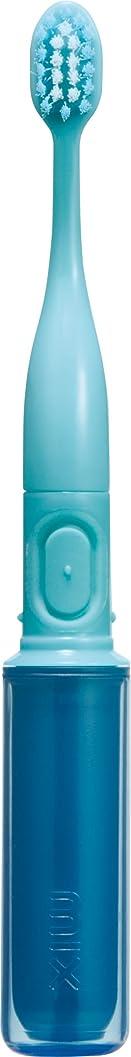 お世話になった出発するバインドラドンナ 携帯音波振動歯ブラシ mix (ミックス) MIX-ET ブルー