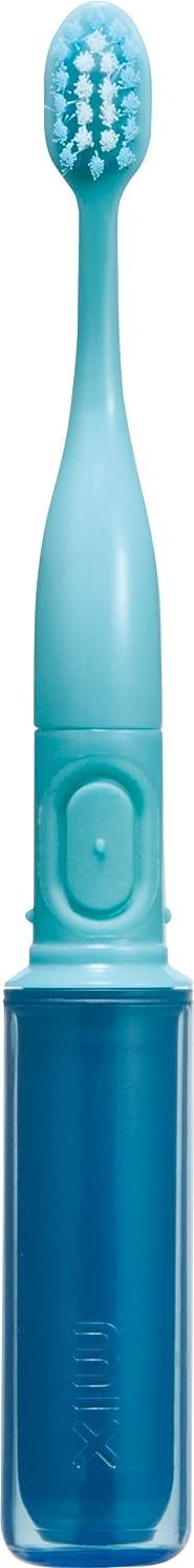 シェルター確かめる呼び起こすラドンナ 携帯音波振動歯ブラシ mix (ミックス) MIX-ET ブルー