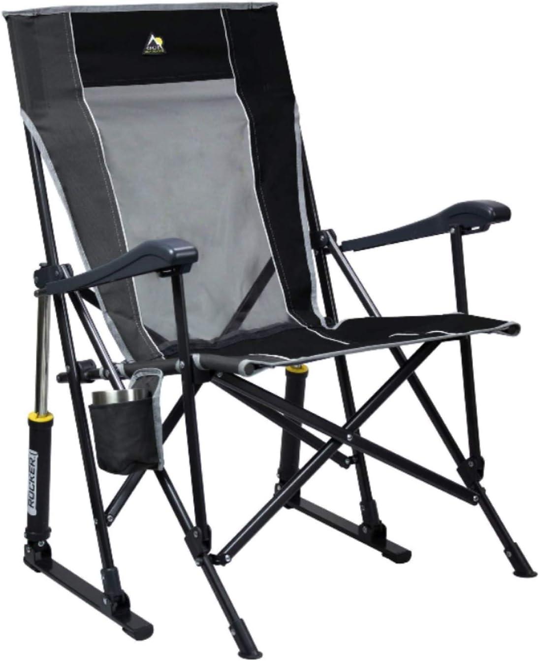 GCI Roadtrip Ranking Japan's largest assortment TOP14 Rocking Chair Pewter Outdoor Black
