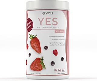 Yoli YES Protein Shake Canister (Wild Berry) by Yoli LLC