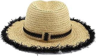 المرأة سترو سترو قبعة الشاطئ قبعة عطلة السفر كاب الإناث حوض قبعة الصياد قبعة