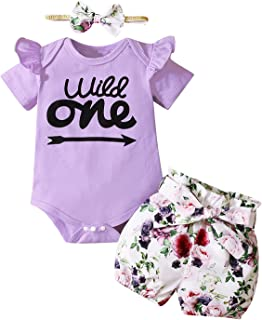 Shalofer Baby Girl 2nd Birthday Outfits Denim Jeans Clothes Set