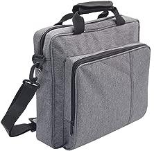PS4 Pro Carrying Bag, OMDEN Travel Case for Playstation 4 Waterproof Carrying Case Protective Handbag Shoulder Bag for PS4/PS4 Pro/PS4 Slim Grey