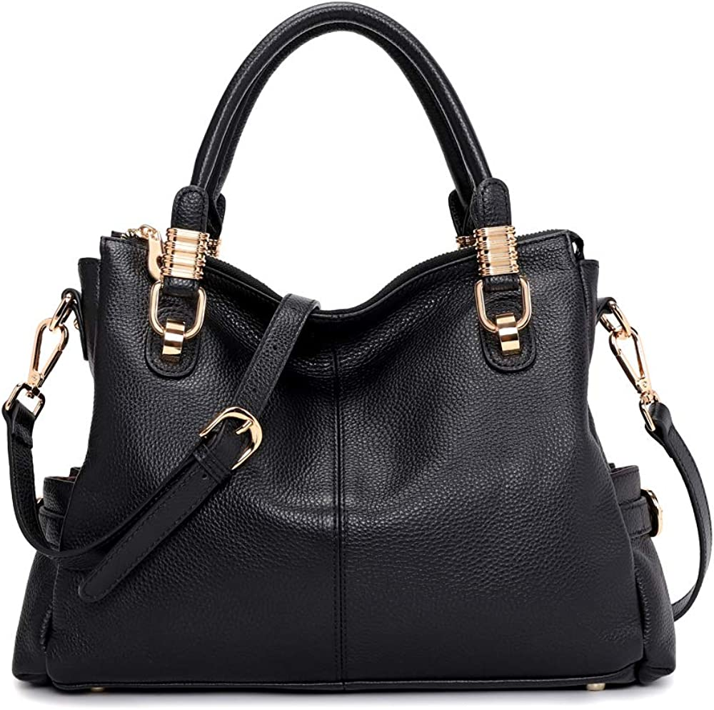 Kattee Industry No. 1 Women's Genuine Max 89% OFF Leather Purses Tote Handbags Satchel and