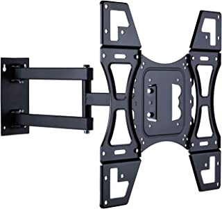 "UNHO Ultra Slim TV Wall Bracket Tilt and Swivel TV Brackets Wall Mount with Full Motion 19.68"" Articulating Arm for 26'' -..."