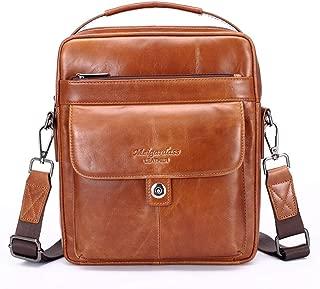 Men's Genuine Leather Messenger Shoulder Bag Handbag CrossBody Briefcase