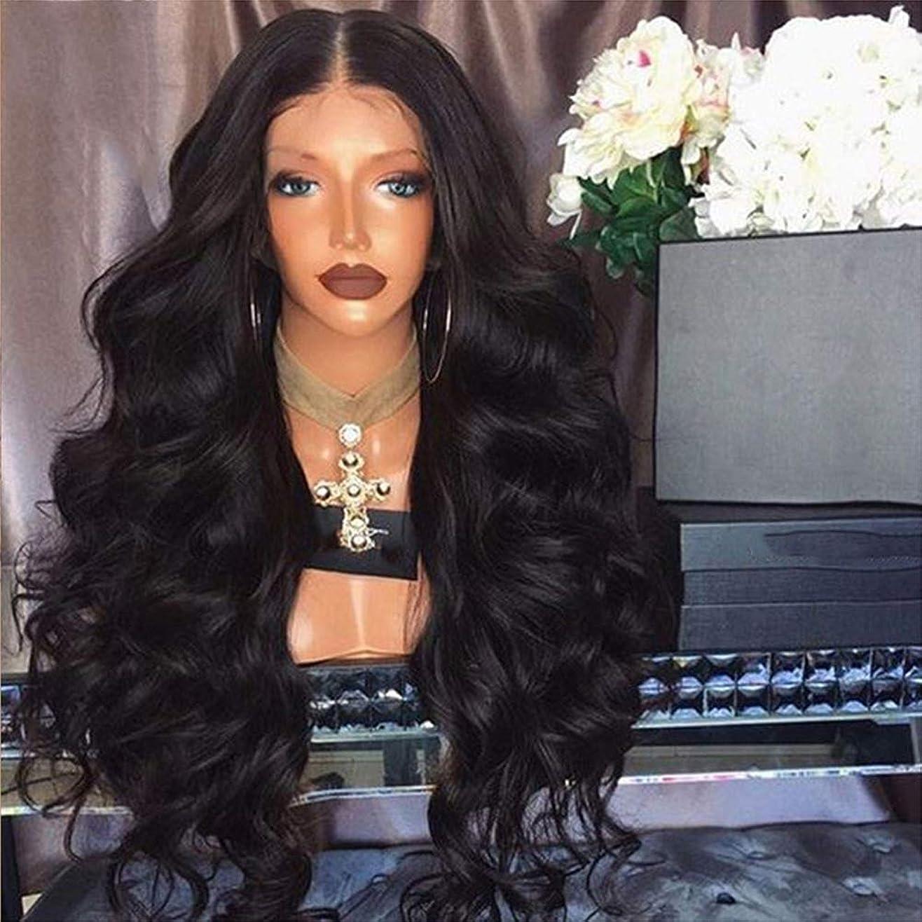 突進リーク種女性かつらレースフロントかつら人間の髪の毛赤ちゃんの髪ブラジル実体波髪レースかつら150%密度