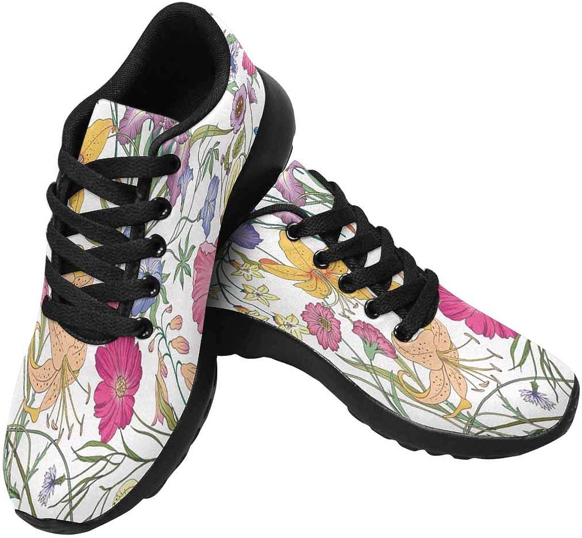 海外輸入 InterestPrint Women's Running Outdoors Shoes Sneakers メーカー再生品