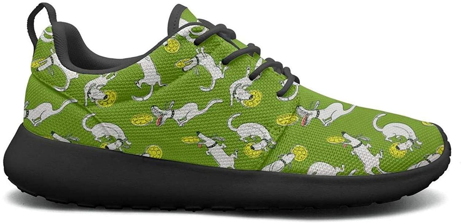 Wuixkas Funny Puppy Dog Play Toys Womens Lightweight Mesh Sneakers Jogger Gym shoes
