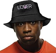 Lover Vs Loser IT Bucket Hat Summer Fisherman Cap Foldable Sun Protection Hat Black