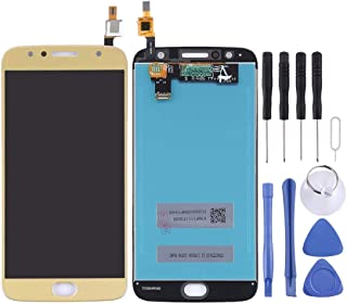 Mobile Phones Communication Accessories for Motorola Moto G5S Plus LCD Screen and Digitizer Full Assembly(Black) (Color : ...