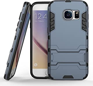 Shockproof with Kickstand Feature Case for Samsung Galaxy S7 (5.1 inch) Hybrid Dual Layer Armor Defender Protective Cover...