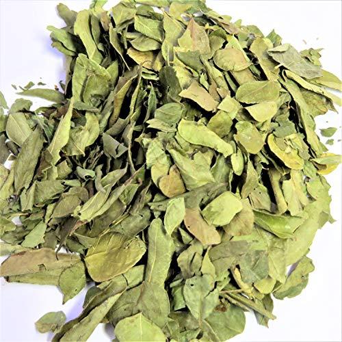 10g Combava Blätter ganz - Kaffirlimettenblätter - Limette Blätter ganz