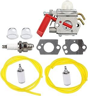 Panari C1U-H47 Carburetor + Fuel Line Filter Spark Plug for Homelite K100 K300 K400 ST2527 ST2537S UT15164 UT15169 UT20758 UT20760 UT20769 UT20772 String Trimer