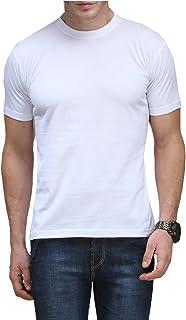Scott International Men's Solid Regular Fit T-Shirt