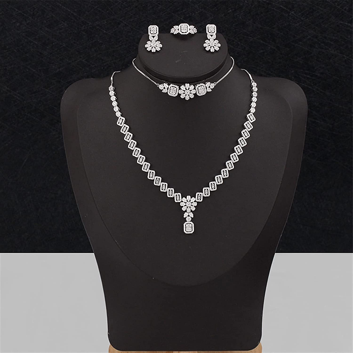 SYXMSM Jewellery Set Bridal Popular products Jewelry Engagement for Sale Special Price Wedding C