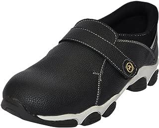Fashion Tree Timberwood Men's Black Synthetic Steel Toe Safety Shoe (6)