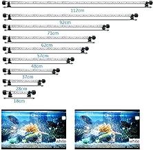 MLJ LED Aquarium Light, 7-44 Inch Waterproof Fish Light Whith with Blue, RGB Underwater..