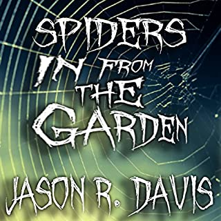 Spiders in from the Garden audiobook cover art