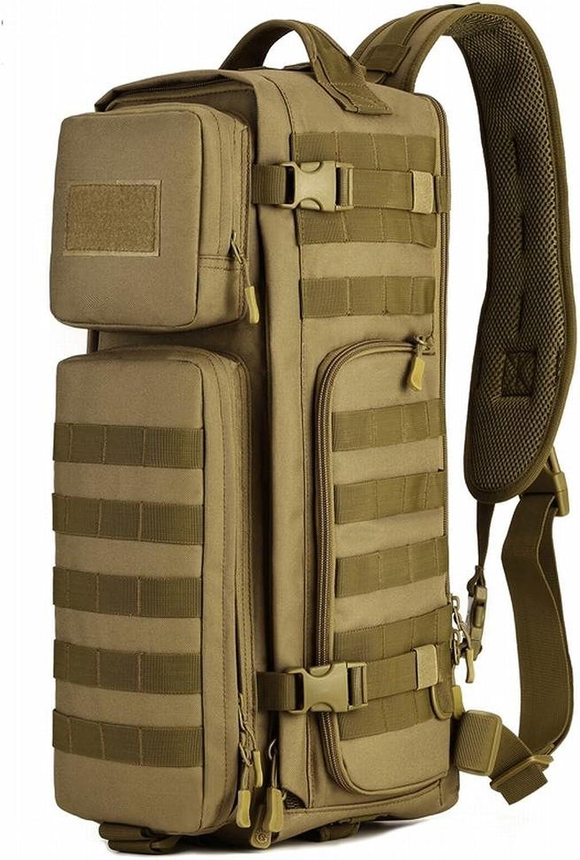 HYOUSANN Tactical Assault Sling Chest Crossbody Bag Pack Utility Molle Daypack