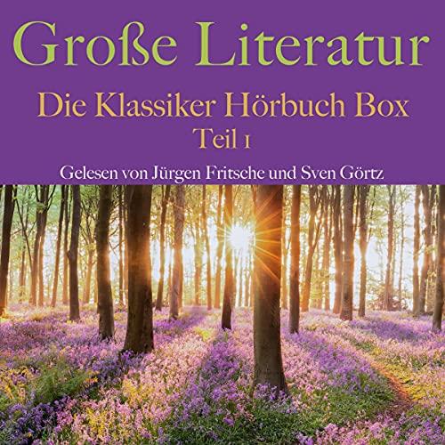 Große Literatur - Die Klassiker Hörbuch Box 1 Titelbild