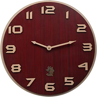 """BH Wood Gallery Wall Clock for Home (11"""" inches)"""