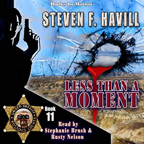 Less Than a Moment Audiobook By Steven F. Havill cover art