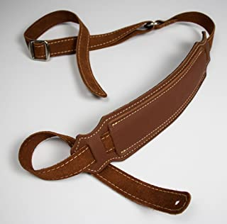 franklin padded glove leather guitar strap
