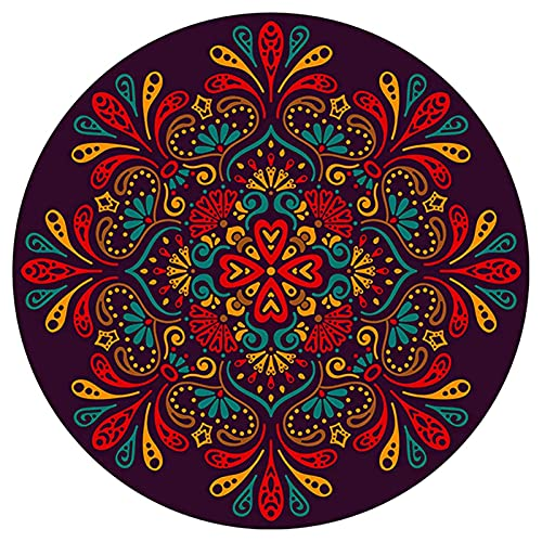 LLKK Alfombras de oficina para suelos alfombrados, lavable, 6 mm de grosor, antideslizante, alfombra silenciosa, fácil de limpiar (tamaño: 160 cm, color: B)
