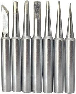 SolderFun Soldering Tips for Weller WLC100,WP25, WP30, WP35 Irons Tips (7pcs)