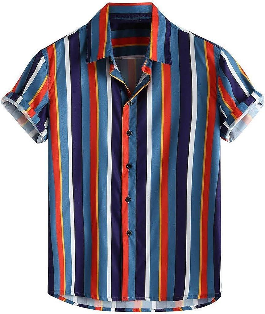 Camisa A Rayas Hombre, Dragon868 Vintage Camisas de ...