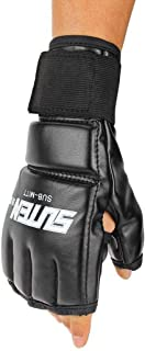 Binmer(TM) Cool MMA Muay Thai Training Punching Bag Half Mitts Sparring Boxing Gloves Gym