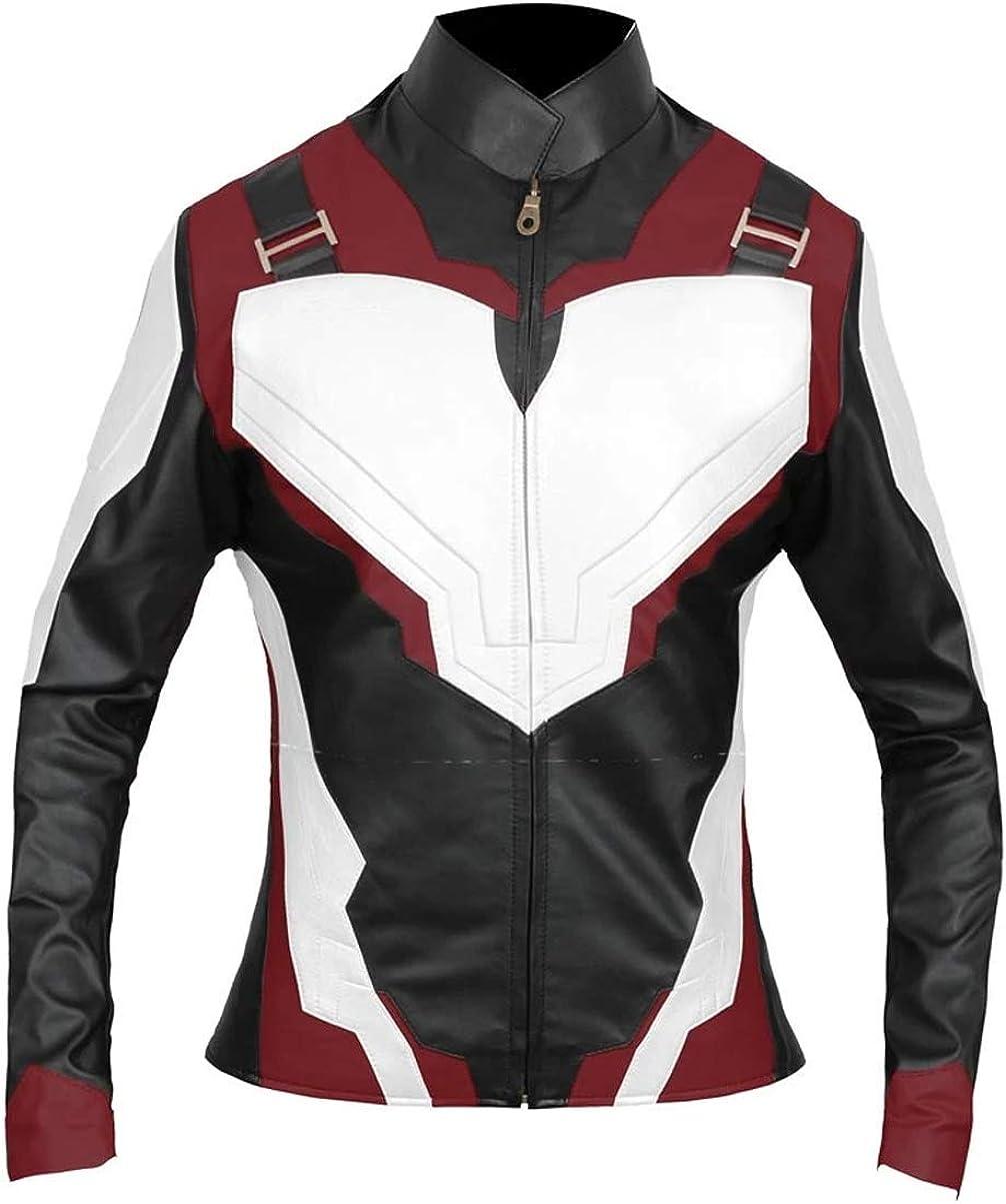 VearFit Vengers Endgame Captain Quantum Faux leather Women Super hero Movie Design