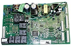 The board measures 8 x 5 inches Genuine GE OEM authorized factory part number WR55X10942 Instructions included This board will not work on GE refrigerator models that have a compressor inverter board Fits with various GE brand models Genuine GE facto...