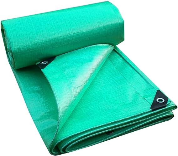 Bache Bache de Pluie Verte bache de Prougeection Solaire imperméable à l'eau de bache de Tricycle d'ombre de bache de bache auvent Bupei, épaisseur 0.4mm, 220g   m2, 12 Tailles