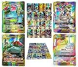 2019 Nouvelles 100 Pcs Cartes Pokemon GX Jeu Flash De Cartes À Collectionner Cartes Pokémon ÉTIQUETTE OBLIGATIONS ÉQUIPÉES...