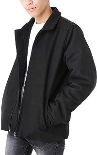(ベストマート) BestMart メルトン 中綿 ブルゾン メンズ アウター ジャケット ウール ジップアップ 624038