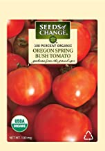 Seeds of Change 01080 Certified Organic Seed, Oregon Spring Bush Tomato