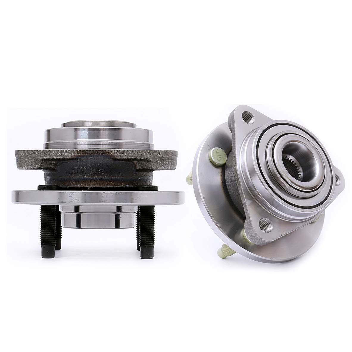 FRONT WHEEL HUB BEARING ASSEMBLY FOR SATURN ION 2005 2006 2007 4 Studs Non-ABS