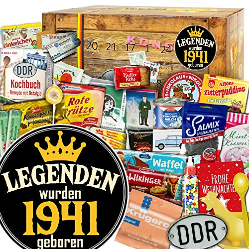 Legenden wurden 1941 geboren - DDR Advent Kalender - DDR Paket