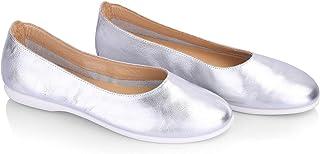 Genuine Leather Flat Ballerina For Women